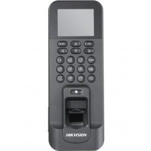 Терминал доступа со встроенными считывателями EM карт и отпечатков пальцев Hikvision DS-K1T803EF