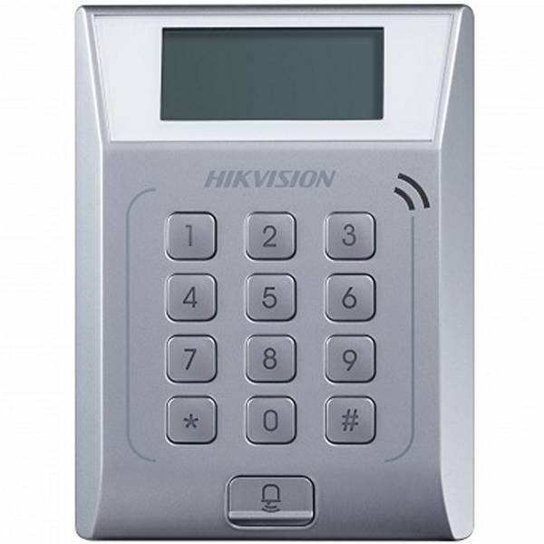 Терминал доступа со встроенным считывателем Mifare карт Hikvision DS-K1T802M