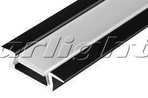 Алюминиевый Профиль MIC-F-2000 ANOD Black