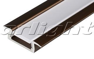 Алюминиевый Профиль MIC-F-2000 ANOD Brown Light