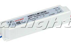 Блок питания ARPV-LM12035 (12V, 3A, 36W)