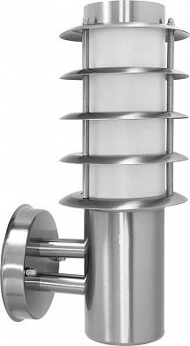 Светильник садово-парковый,Техно на стену, 18W E27 230V, серебро