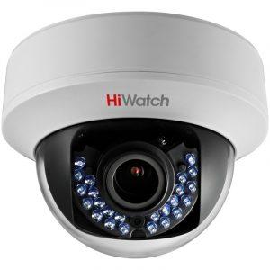 HD-TVI камера с ИК-подсветкой HiWatch DS-T107 (2.8-12 mm)