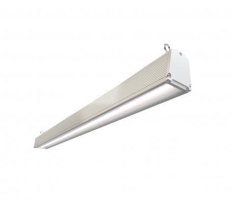 Торговый светодиодный светильник DS-trade 34W призма/ опал