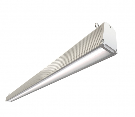 Торговый светодиодный светильник trade 50W 1,2 метра призма/опал