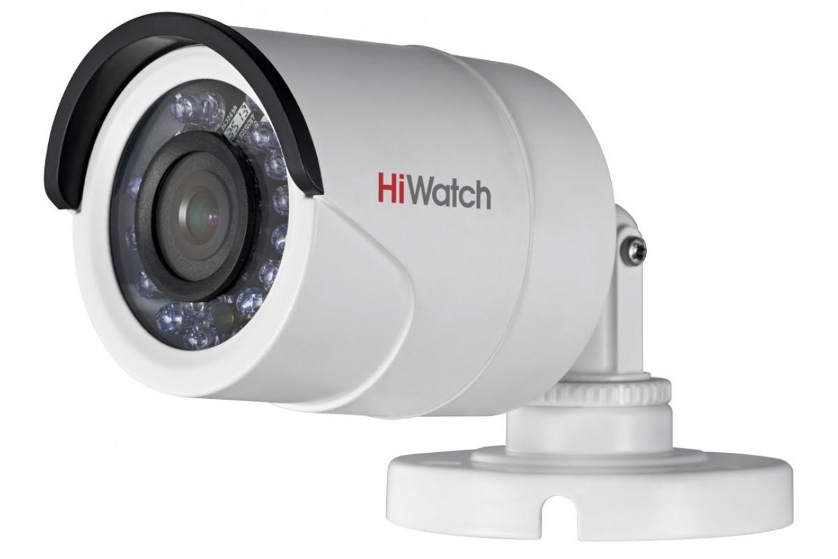 HD-TVI камера с ИК-подсветкой HiWatchDS-T200 (2.8 mm)