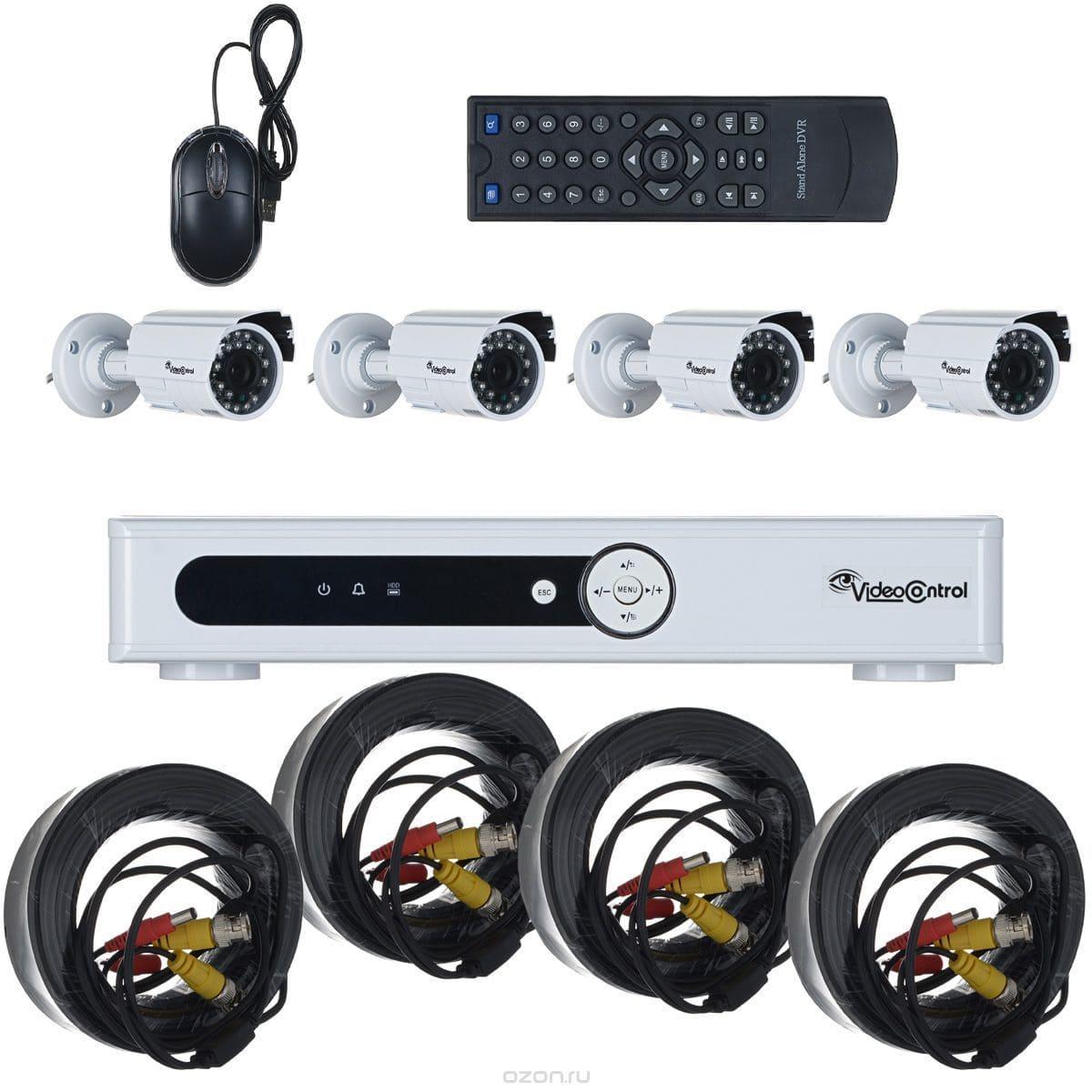Video Control VC-4SD5A-HD система видеонаблюдения