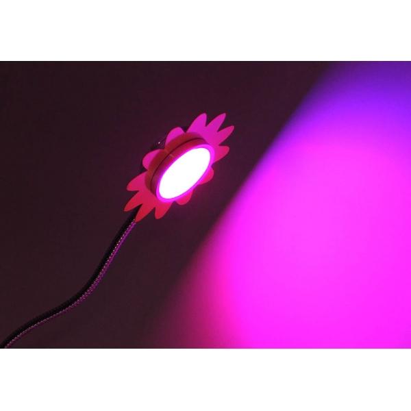 Фитосветильник для комнатных растений на гибкой ножке