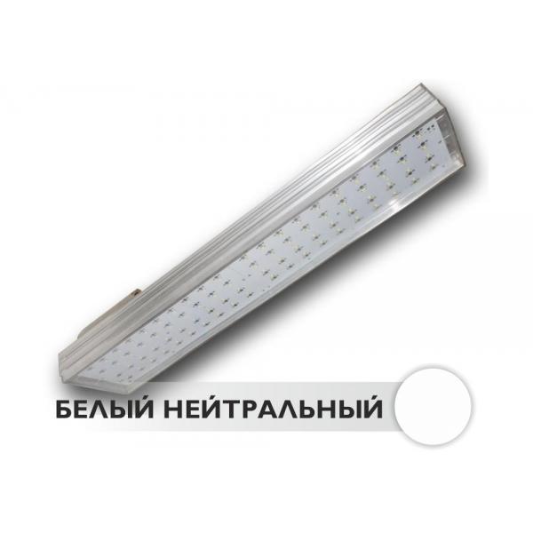 Светодиодный светильник уличный с широкоугольными линзами РКУ-ТБ-800 80W 220V IP65 60*126гр NI