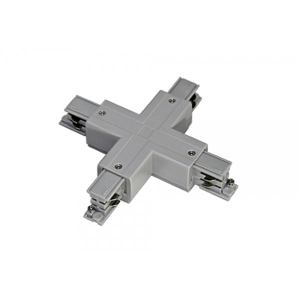 Х-образный соединитель для 3-х контактного шинопровода